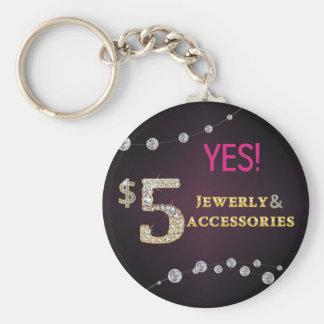 Porte-clés Oui ! $5 bijoux et porte - clé d'accessoires