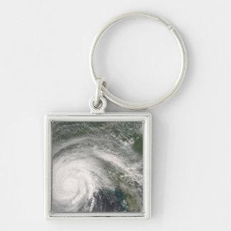 Porte-clés Ouragan Gustav au-dessus de la Louisiane