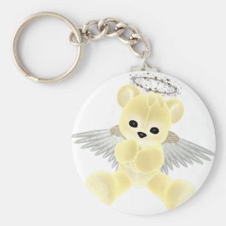 Porte-clés Ours d'ange gardien de KRW