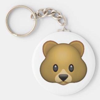 Porte-clés Ours - Emoji