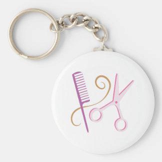 Porte-clés Outils de coiffeur
