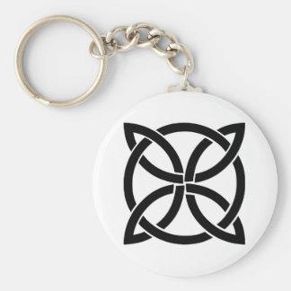 Porte-clés païen antique de symbole de l'Irlande de noeud