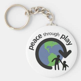 Porte-clés Paix par le porte - clé de jeu