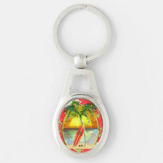 Porte-clés Palmier tropical de Noël