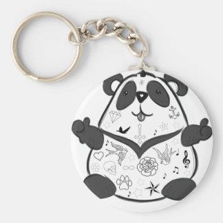 Porte-clés Panda de tatouage
