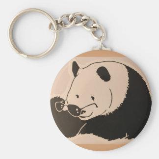 Porte-clés Panda frais avec des nuances