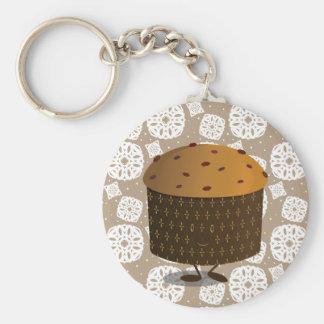 Porte-clés Panettone de sourire