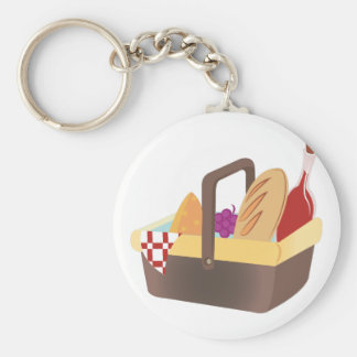Porte-clés Panier de pique-nique