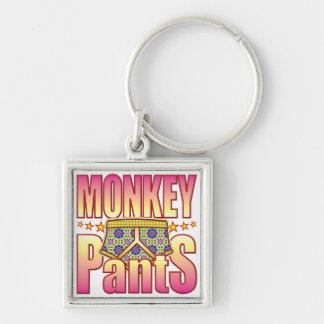 Porte-clés Pantalon fleuri de singe