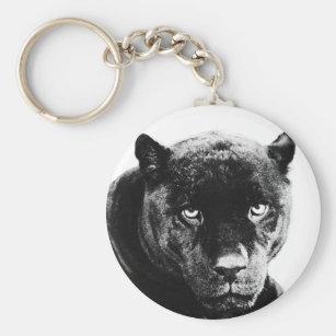Porte-clés Panthère noire Jaguar