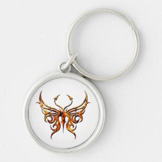 Porte-clés Papillon keychain. du feu