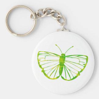 Porte-clés Papillon vert