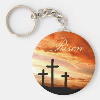 Porte-clés Pâques levée