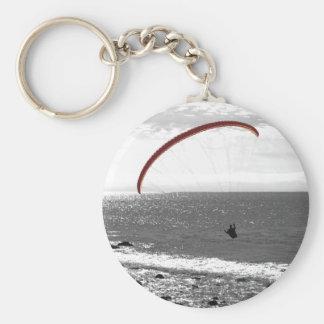 Porte-clés Parapentisme par le porte - clé d'océan
