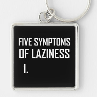 Porte-clés Paresse de cinq symptômes