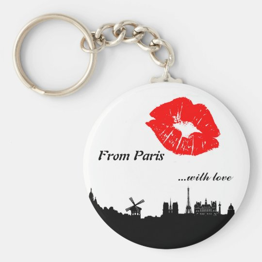 Porte-clés Paris Key Chain, with love