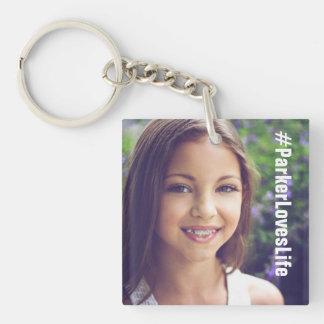 Porte-clés Parker aime le porte - clé de la vie