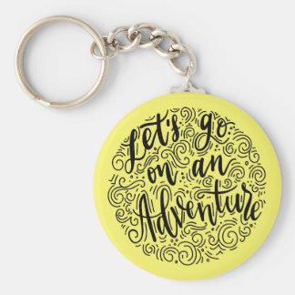 Porte-clés Partons sur une aventure