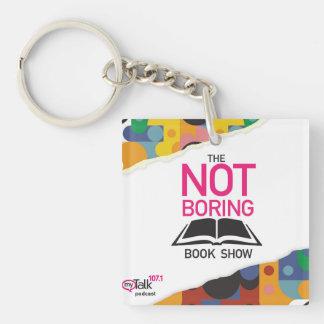 Porte-clés Pas le carré de porte - clé d'exposition de livre