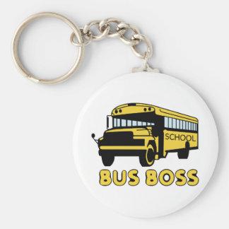 Porte-clés Patron d'autobus