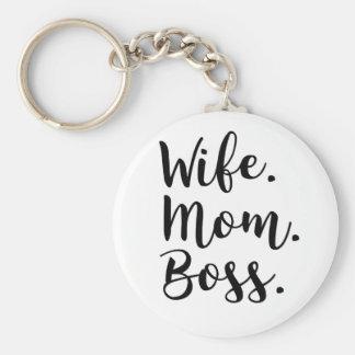 Porte-clés patron de maman d'épouse