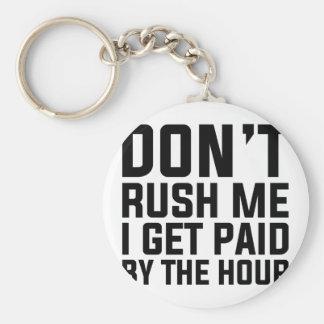 Porte-clés Payé à l'heure