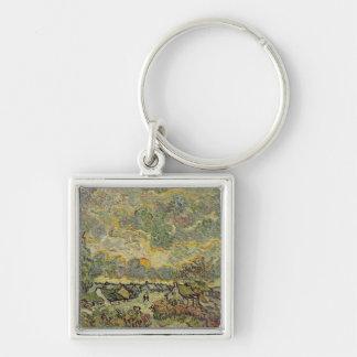Porte-clés Paysage d'automne de Vincent van Gogh |, 1890