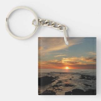 Porte-clés Paysage marin du coucher du soleil II la