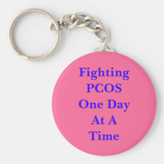 Porte-clés PCOS de combat un jour à la fois