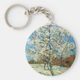 Porte-clés Pêchers dans la fleur Vincent van Gogh
