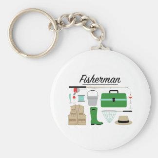 Porte-clés Pêcheur
