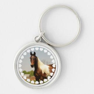 Porte-clés Peignez le porte - clé de cheval