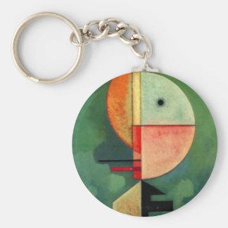 Porte-clés Peinture abstraite ascendante de Kandinsky