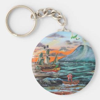 Porte-clés Peinture de Bell d'étameur ambulant de la crique