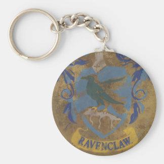 Porte-clés Peinture rustique de Harry Potter   Ravenclaw