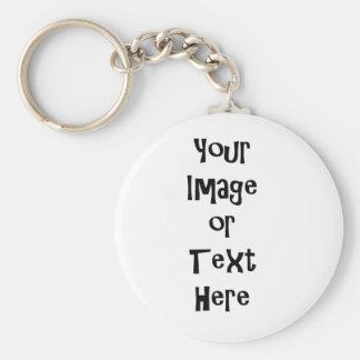 Porte-clés Personnaliser avec les images et le texte