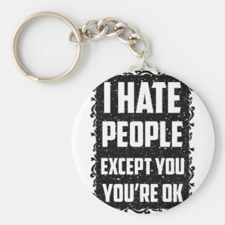 Porte-clés Personnes du haite I à moins que vous vous soyez