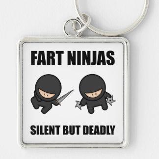 Porte-clés Pet Ninjas silencieux mais extrêmement