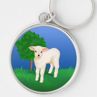 Porte-clés Petit agneau