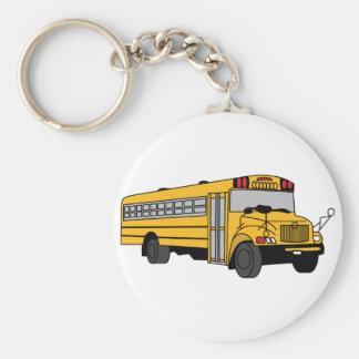 Porte-clés Petit autobus scolaire