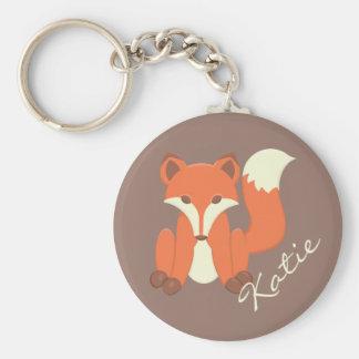 """Porte-clés """"Petit Fox doux """""""