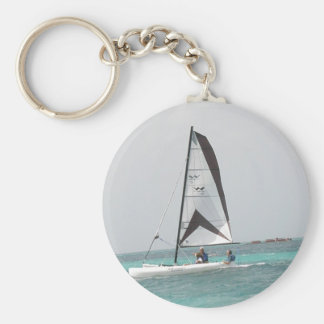 Porte-clés Petit porte - clé de voilier de catamaran