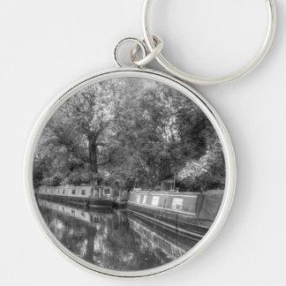 Porte-clés Peu de bateaux étroits de Venise