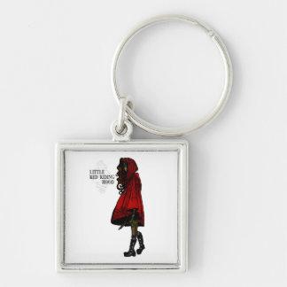 Porte-clés Peu de capuchon rouge