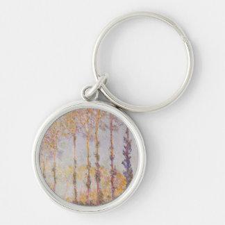 Porte-clés Peupliers de Claude Monet   sur les banques de