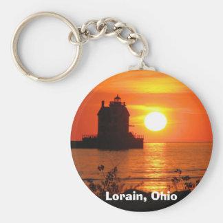 Porte-clés Phare au porte - clé de coucher du soleil