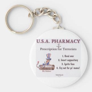 Porte-clés Pharmacie des Etats-Unis