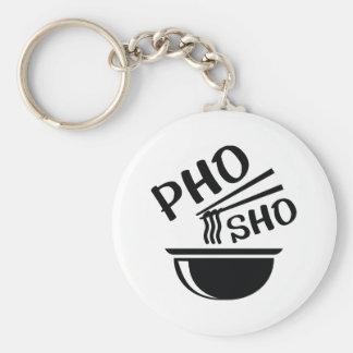 Porte-clés Pho Sho