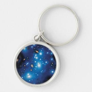 Porte-clés Photo de l'espace de groupe de galaxie d'Abell