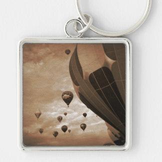 Porte-clés Photographie chaude de cru de ballon à air